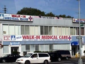 Picture Of Walk-In Medical Care Workers Comp Cost Savings Building