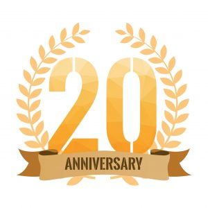 20th Anniversary J&L Risk Management Consultants Graphics