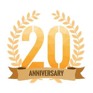 20th Anniversary J&L Risk Management Consultants Graphics