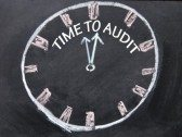 drawing of clock Work Comp Audit Bill Time To Audit