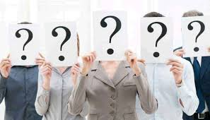 Employees holding question mark classification codes Concept