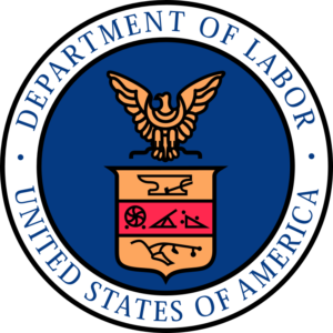 United States Of America Department Of Labor Subcontractors FLSA Logo