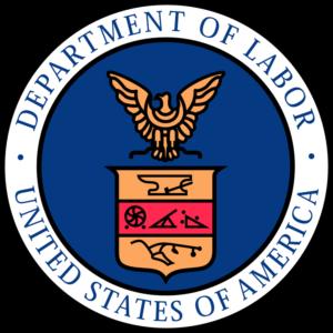 United States Of America Department Of Labor Subcontractors FLSA Logo