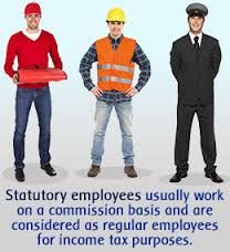 Picture of Subcontractors and statutory employees on duty ware