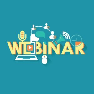 Graphic of Upcoming Work Comp Claims Webinar Design