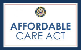 graphic of affordable care act badge