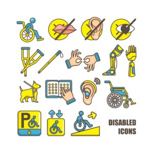 Graphic of Disabled Icons NWCDC 2015 Technology Tools