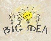 clipart of four bulb workers comp innovators Big Idea