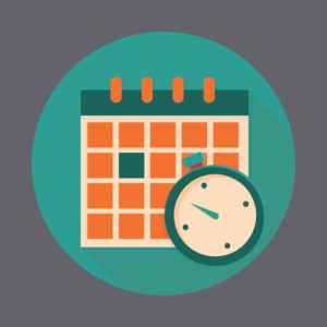 Graphic of Calendar Retroactive and Waiting Periods Concept
