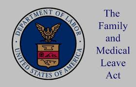 FMLA Workers Comp Return Department of Labor US badge