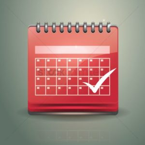 Graphic of Red Calendar Workers Comp Waiting Periods Check Mark