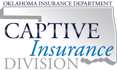 Captive Insurance Division oklahoma captive program emblem from web
