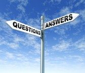 Concept of Work Comp Answers Q&A on Street Sign