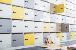 Picture of Files fallen in Locker Room Workers Comp Accident Rates Twice Per Year