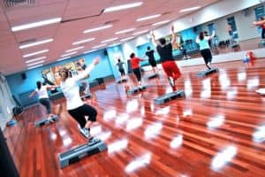 Exercise Work Comp Wellness Plans At Gym Studio