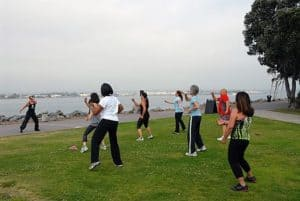 Picture Of Women Exercising Work Comp Wellness Plans Park View