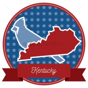 map of kentucky work comp logo