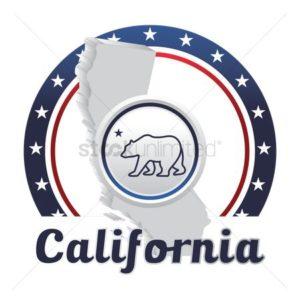 Map California CWCI Stars Bear