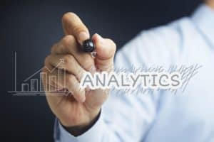 Hand Illustrating Work Comp Claim Analytics Concept