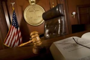 Judges Chair Work Comp Laws In Court Room