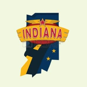 Map Indiana Medical Fee Schedule Symbolic