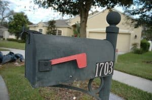Mailbox Self Insured Resolutions Outside At House