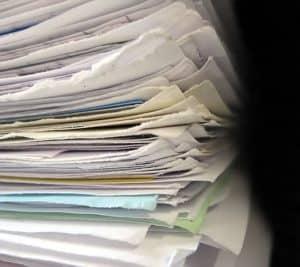 Stack Retouch North Carolina Rate Bureau Papers