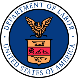 United States Of America WCRI 2017 Conference Department Of Labor Logo