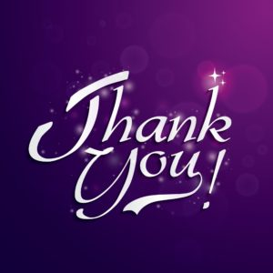 Thank You Graphic J&L Risk Management Consultants In Purple Background