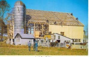 picture barn raising insurance policy rural