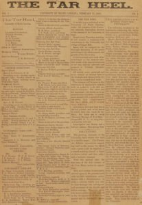 tarheel north carolina industrial commission newspaper