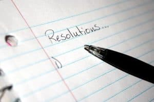 Writing 2018 Workers Comp Resolutions On Notes