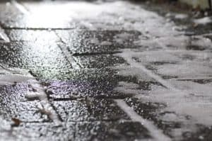 black ice serious workers comp claims on pathway