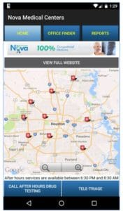 picture of map Nova MC Best Workers Comp App