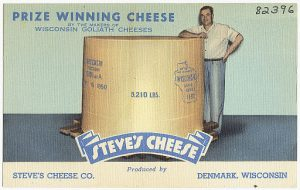 picture of winning Wisconsin workers comp cheese