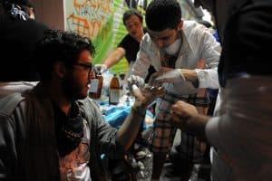 Man volunteer workers comp benefits Medical Mission