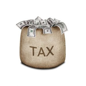 Bag Tax micro-captives With Money