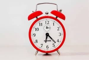 picture of 30 minute webinars red clock