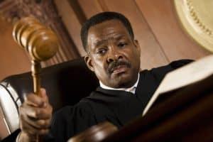 Judge California Supreme Court Holding Gavel