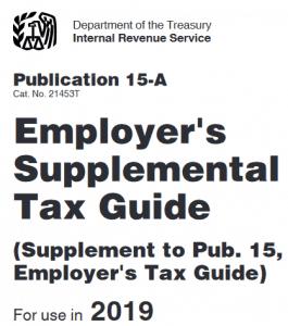 Title Page IRS Publication 15a