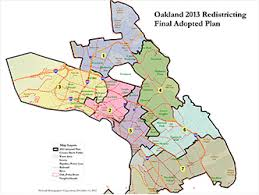 WCIRB Conference Oakland CA redistricting map