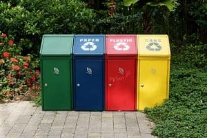 pic workers comp content recycling bins