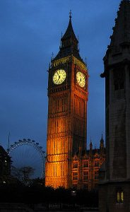 picture of Big Ben Time for Free Workers Comp Webinars