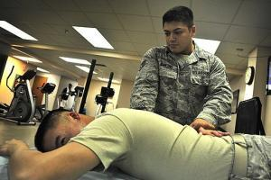 picture army physical therapy study clinic