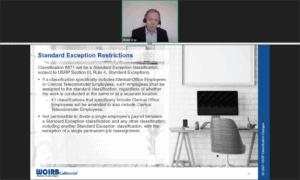 screenshot 8817 Standard Exception WCIRB Webinar