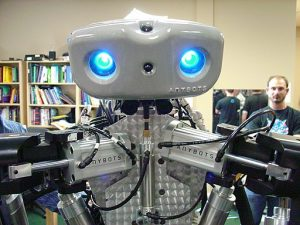 algorithms monty the robot pic