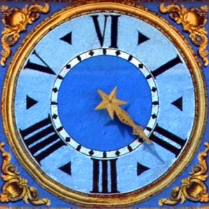 picture of clock face with six numerals workers comp claim development